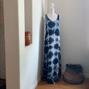 C&C CALIFORNIA (like new) SILK TIE-DYE DRESS